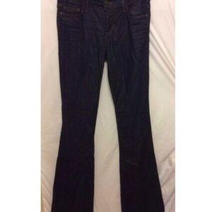 Joe's Jeans 25 Dark Wash Bell Bottom Visionaire